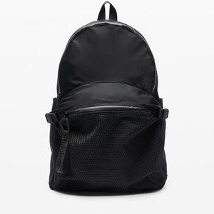 New Lululemon Black Laptop Backpack